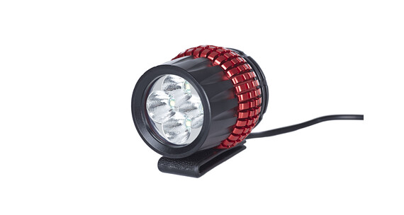 Red Cycling Products LED Sunriser II Lampa na kask czerwony/czarny